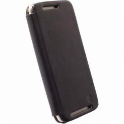 Pouzdro Krusell FlipCase Kiruna HTC One M9 černé