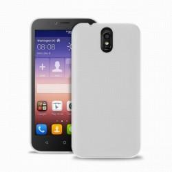 """Puro zadní kryt pro Huawei Y625 ULTRA-SLIM """"0.3"""" s fólií na displej, transparentní"""