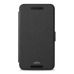 Puro flipové pouzdro pro HUAWEI Nexus 6P s přihrádkou na kartu, černá