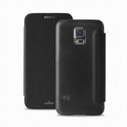 Pouzdro Puro flipové Samsung Galaxy S5 mini černé