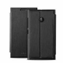 Puro flipové pouzdro s přihrádkou na kartu pro Microsoft Lumia 532, černá