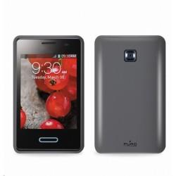Puro silikonové pouzdro pro LG OPTIMUS L3 II, černá