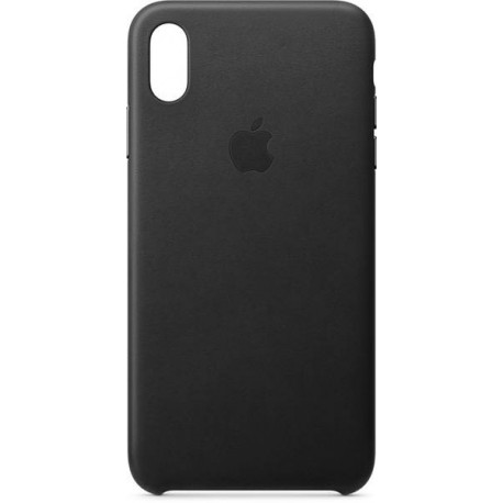 Apple iPhone XS Leather Case - Black