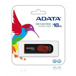 ADATA Flash Disk 16GB USB 2.0 Classic C008, černý