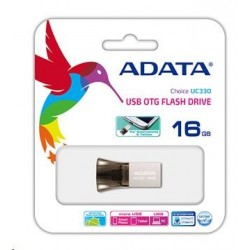 ADATA DashDrive Durable UC330 16GB OTG AUC330-16G-RBK