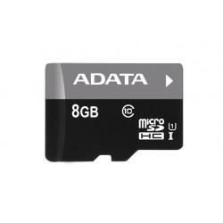 ADATA Premier microSDHC 8GB Class 10 + adaptér AUSDH8GUICL10-RA1