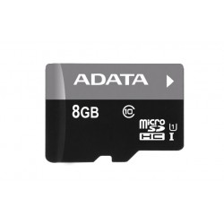 ADATA Premier microSDHC 8GB UHS-I U1 AUSDH8GUICL10-R