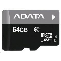 ADATA microSDXC Premier 64GB UHS-I U1 AUSDX64GUICL10-R