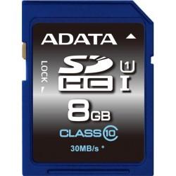 ADATA Premier SDHC 8GB UHS-I ASDH8GUICL10-R
