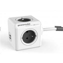 PowerCube EXTENDED USB - 3m grey