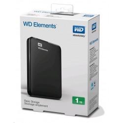 Western Digital Elements Portable 1TB, WDBUZG0010BBK-EESN