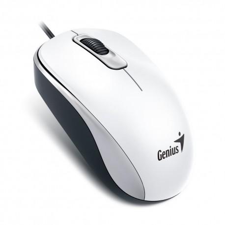 GENIUS myš DX-110, drátová, 1000 dpi, USB, bílá