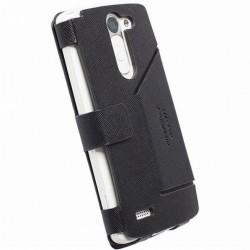 Pouzdro Krusell MALMÖ FlipWallet LG D331 L Bello černé