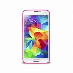Pouzdro Puro Clear Samsung Galaxy S5 růžové