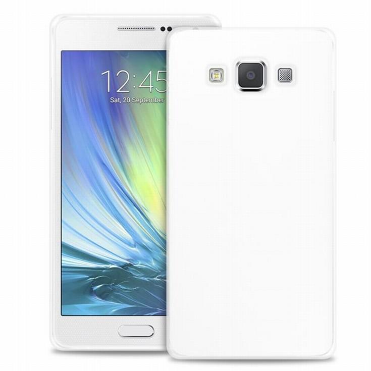 """Puro zadní kryt pro Samsung Galaxy A7 ULTRA-SLIM """"0.3"""" s fólií na displej, transparentní"""
