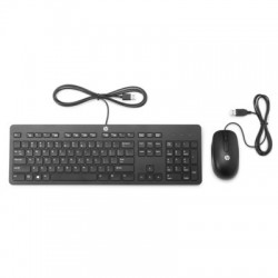 HP Slim USB Keyboard and Mouse, T6T83AA