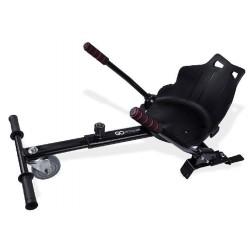 GOCLEVER City Board KARTING KIT - vozík pro hoverboard, černá - CBKKB
