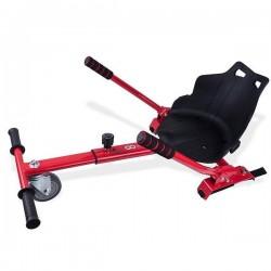 GOCLEVER City Board KARTING KIT - vozík pro hoverboard, červená - CBKKR