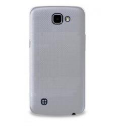 """Puro zadní kryt pro LG K4 ULTRA-SLIM """"0.3"""" s fólií na displej, transparentní"""