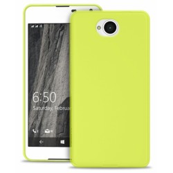 Pouzdro Puro 0.3 Ultra Slim ultratenké Microsoft Lumia 650 Lumia 650 Dual Sim žluto zelené