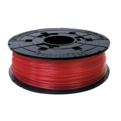 XYZ Junior 600gr Clear Red PLA Filament Cartridge