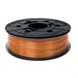 XYZ Junior 600gr Clear Tangerine PLA Filament Cartridge