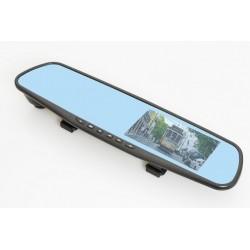 GOCLEVER drive mirror SAFEGO FULL HD zpětné zrcátko, přední a zadní kamera (GCDVRDMSFH)