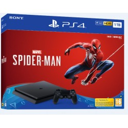 SONY PlayStation 4 Pro 1TB - černý - Gamma chassis + Spiderman