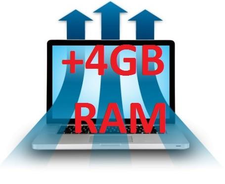 Rozšíření ze 4GB na 8GB RAM