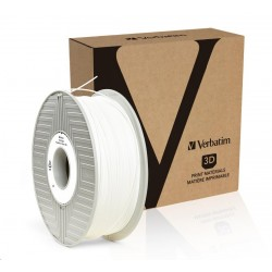 VERBATIM 3D Printer Filament PLA 1,75mm 1kg white