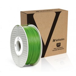 VERBATIM 3D Printer Filament PLA 1,75mm 1kg green
