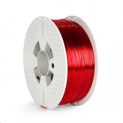 VERBATIM 3D Printer Filament PET-G 1.75mm 1000g red