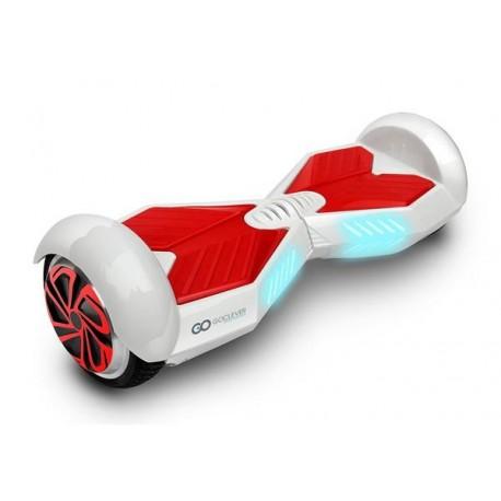 """GOCLEVER City Board X LG, bílo-červená - kolonožka, 6,5"""" kola"""