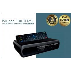 NEW DIGITAL Set-top box T2 265 HD, DVB-T2, HDMI, SCART, USB, CRA certifikace