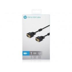 VGA kabel HP [1x VGA zástrčka - 1x VGA zástrčka] černá 1 m