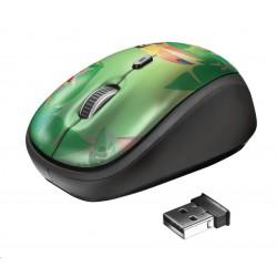 TRUST Myš Yvi Wireless Mouse - toucan