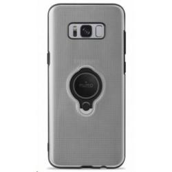 Puro ochranný obal pro Samsung Galaxy S8 Plus s magnetickým kroužkem, transparentní